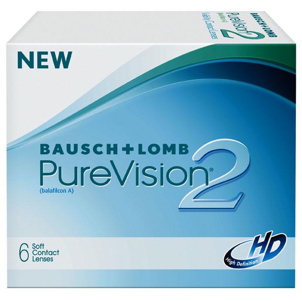 Контактные линзы Bausch&Lomb Pure Vision 2 HD